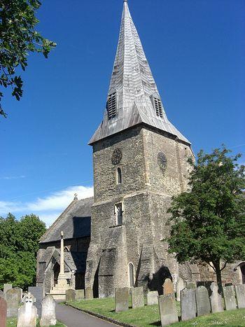 Церковь св. Браннока в Бронтоне, Девон.