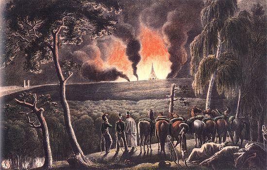 Перед Смоленском 5 августа 1812 г., 10 часов вечера. Христиан Вильгельм Фабер дю Фор
