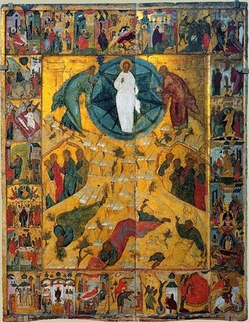 Transfiguration of the Lord. Pokrovsky Monastery in Suzdal. The first half of the XVI century