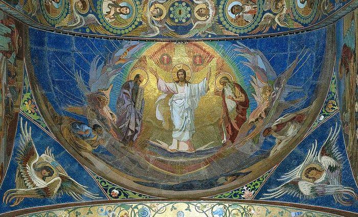 Преображение Господне. Храм Спаса на Крови, Санкт-Петербург. Мозаика
