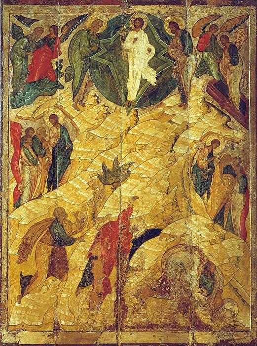 Преображение Господне. Икона. Великий Новгород. XVI в.