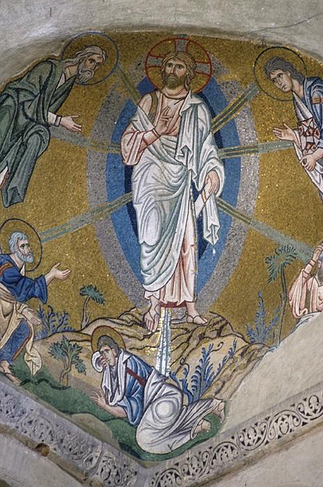 Преображение Господне. Мозаика. Монастырь Дафни, Греция. XI в.