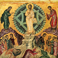 Преображение Господне: иконы, фрески, мозаики, миниатюры