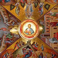 Фрески Фаворского монастыря