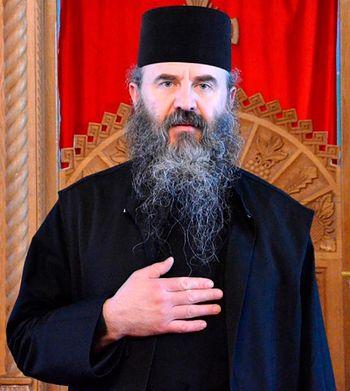 Протосингел Харитон (Негря), новый настоятель монастыря Петру Водэ