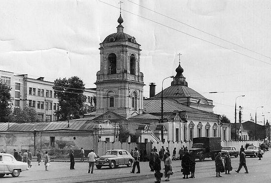 Храм Преображения Господня взорвали в 1964 году