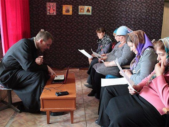 Огласительная беседа в Туве