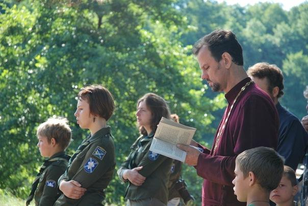 Совместная молитва. Летние зори-2011.