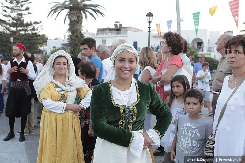 Как на острове Парос отмечают Успение.  Фото: В. Ходаков / Православие.Ru