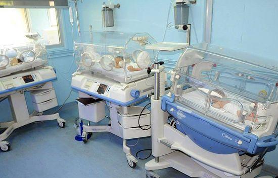 В больнице Дамаска. Детей нечем кормить - в том числе и в больницах. Фото: ИППО