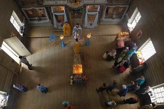 Богослужение на престольный праздник. Фото: Филипп Щипков
