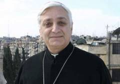 "The Syrian Chaldean Catholic bishop of Aleppo, Antoine Audo, warned of a possible ""world war"" if the West intervenes in Syria"