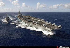 Авианосец ВВС США идет к Сирии