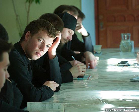 Семинаристы. Фото: Г. Балаянц / Православие.Ru
