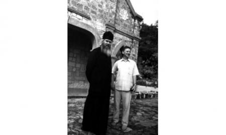 Игумен Лука с Игорем Булкиным