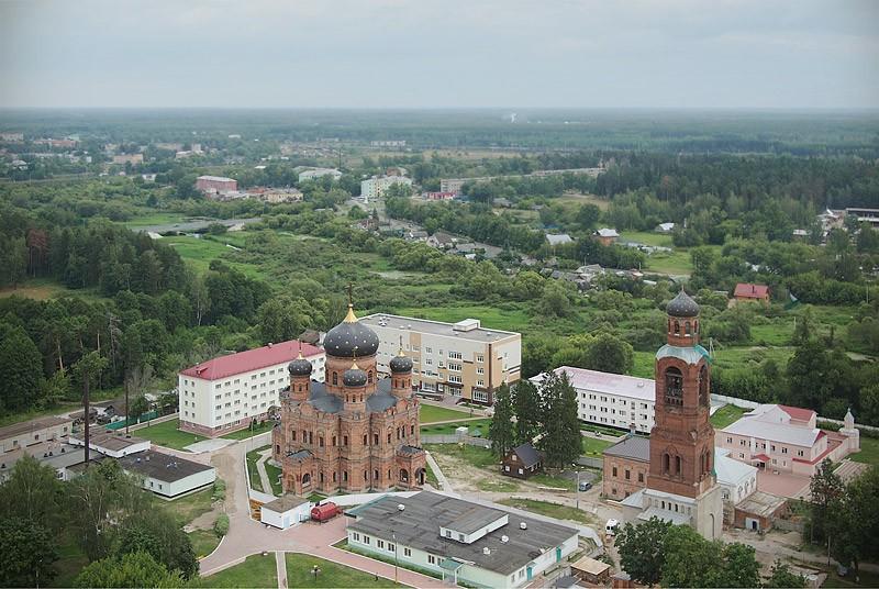 Гуслицкий Спасо-Преображенский мужской монастырь. 4 августа 2012 года  Фото: Михаил и Екатерина