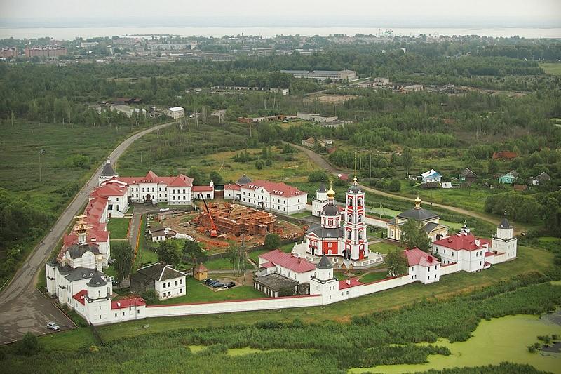 Троице-Сергиев Варницкий монастырь. 23 августа 2012 года  Фото: Михаил и Екатерина