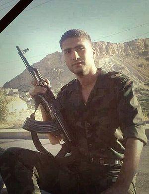 Лейтенант Мадж Аль-Шами, погибший при защите христианской Маалюли от боевиков Аль-Нусра. Фото: Syria Report