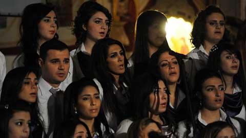 Syria. Christian Christmas