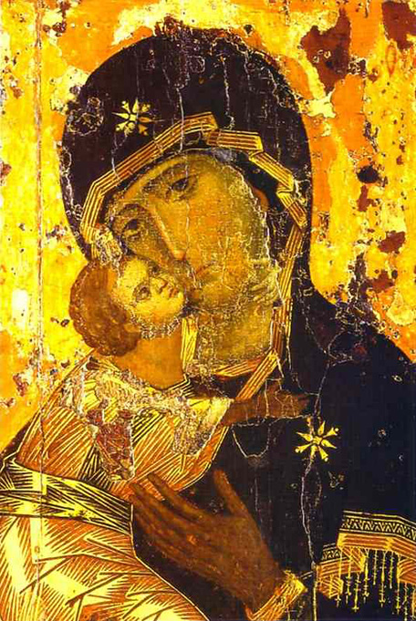 The Vladimir Icon of the Mother of God.
