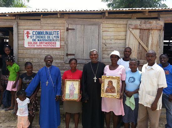 Прихожане общины святого Иринея Лионского.