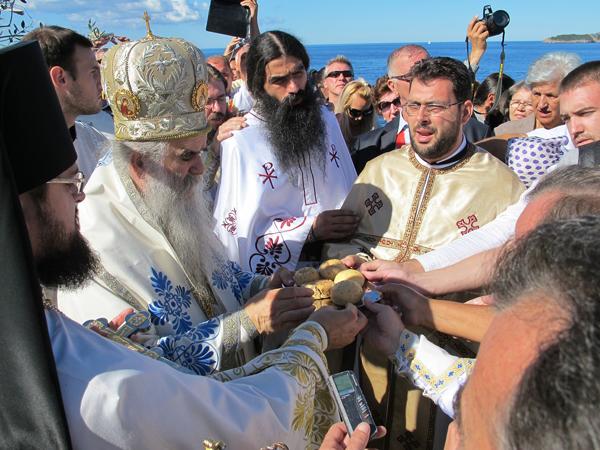 Крестная слава - традиционное богослужение каждого черногорского племени. Фото Александра Сопова.