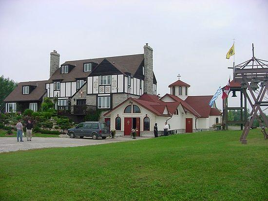 Монастырь Космы Этолийского, основанный в Канаде Ефремом Филофейским