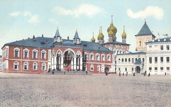 Чудов монастырь. Дореволюционная открытка.