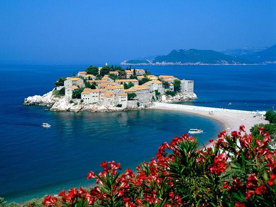 Остров Свети Стефан, Черногория