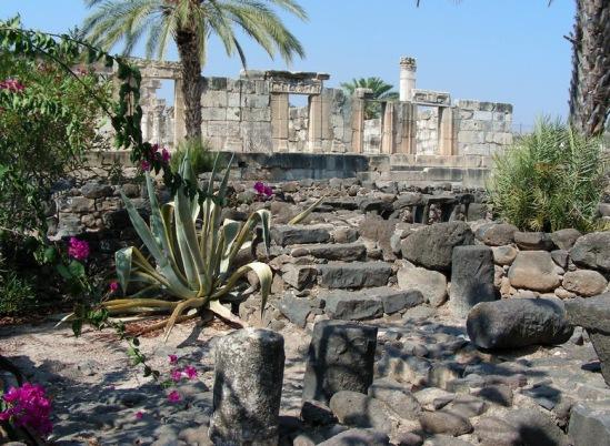 Капернаум. «Белая синагога».