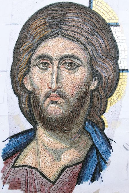 Господь Вседержитель. Мозаика