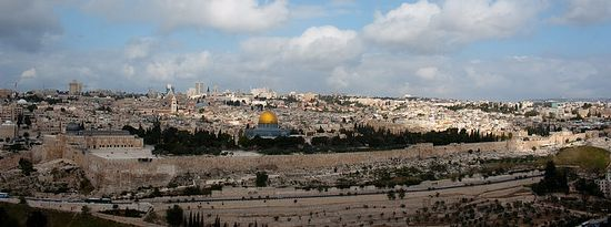 Вид на старый город. Иерусалим. Фото: Гурий Балаянц / Православие.Ru