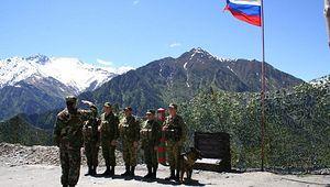 Военная база в Абхазии