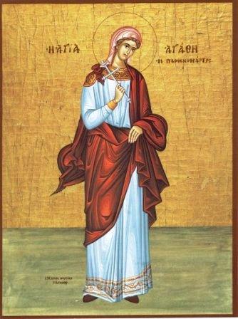 St. Agatha.