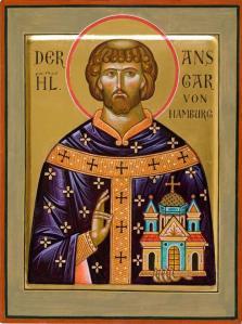 St. Anschar (Ansgar).
