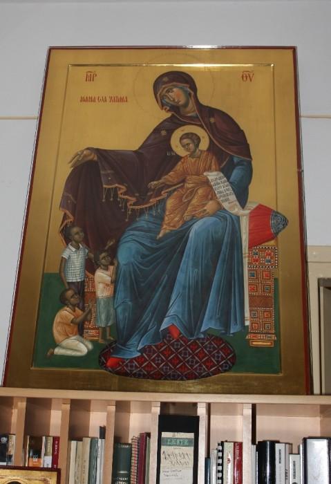 Икона в резиденции митрополита Кенийского Макария