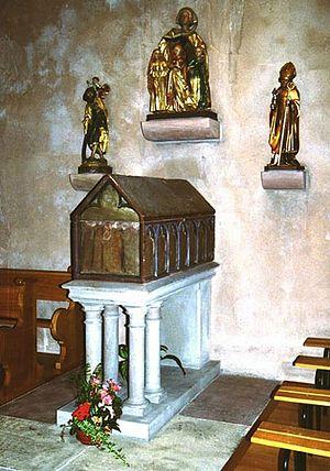 Рака, в которой находятся мощи святой Софии