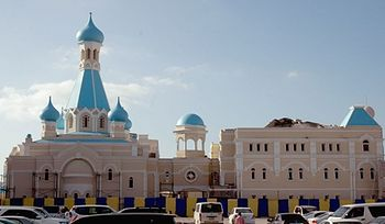 The first Orthodox church in the Arabian Peninsula