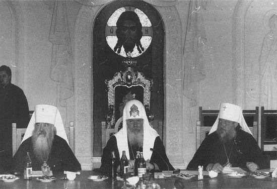 Переговоры в Свято-Даниловом монастыре