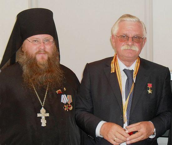 Иеромонах Никон и Александр Руцкой спустя годы