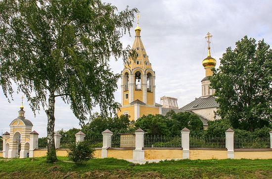 Храм в честь Рождества Пресвятой Богородицы. Городня-на-Волге