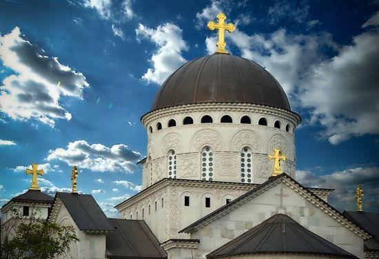 Храм Воскремения Христова в Подгорице. Фото: Горан Боричич