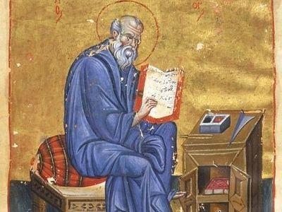 Образ святого Иоанна Богослова в кондаках преподобного Романа Сладкопевца