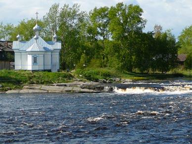 Церковь свв. Зосимы и Савватия в Беломорске. Современный снимок.