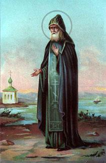 Преподобный Елисей Сумский.
