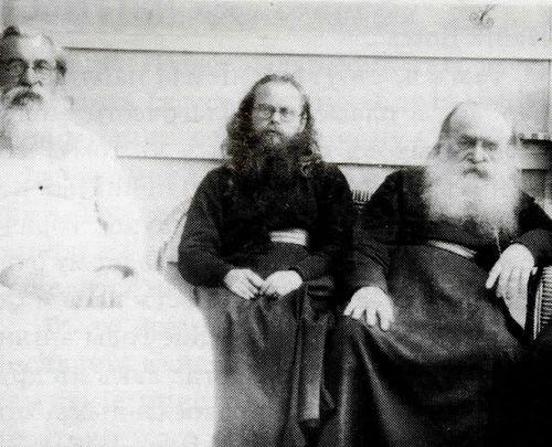 Епископ Феофан, епископ Николай и митрополит Антоний в Лондоне.