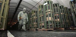 Завод по переработке химоружия в Марадыково