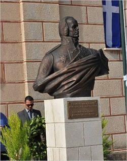 Споменик Фјодору Ушакову за грчко острво у Москви је направио скулптор Сергеј Сорокин; фото: прес-служба ЦФ РФ