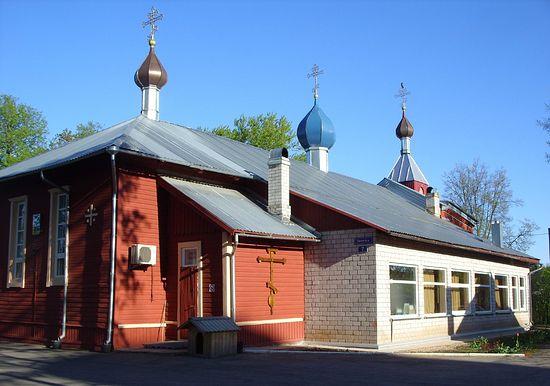 Валга. Церковь Владимирской иконы Божией Матери.