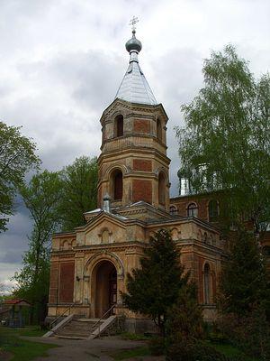 Валга. Церковь св.Исидора.